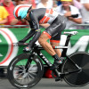 Fabian Cancellara on the prologue of the 2012 Tour de France